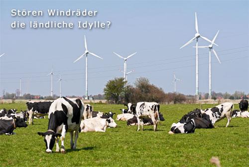 Windräder Idylle